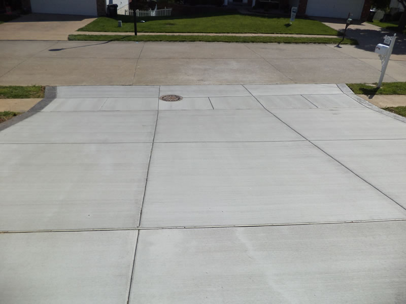 How to pour a concrete patio in sections for How to pour a concrete driveway