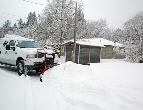 Subdivision Road Snow Removal