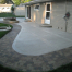decorative concrete patio edging