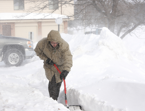 Sidewalk and Driveway Snow Shoveling
