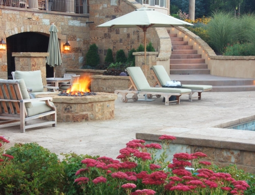 Stained Concrete Patio Modern