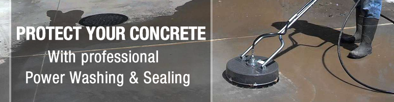 Concrete Power Washing and Concrete Sealing in Saco 63645