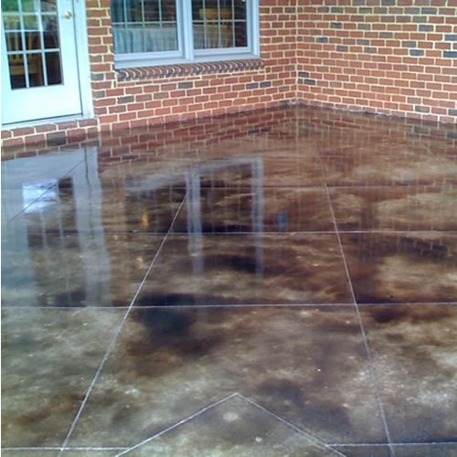 Multiple options for patios buchheit construction for Cleaning concrete patio